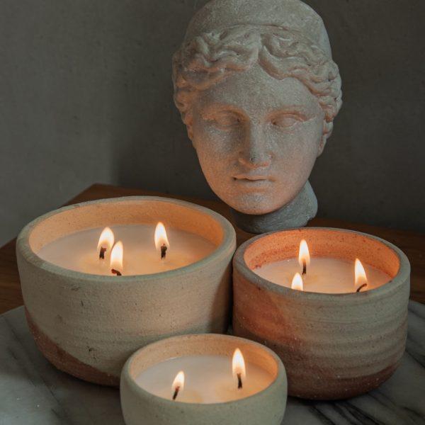 נרות סויה טבעיים